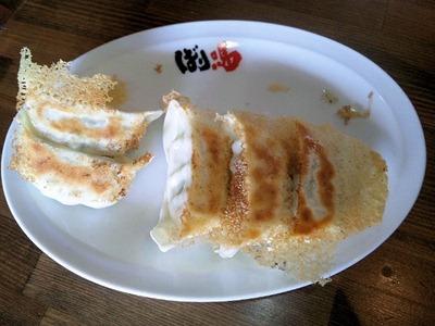 新・和歌山らーめんばり馬無料の焼餃子