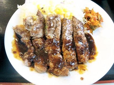 松屋/豚テキ定食