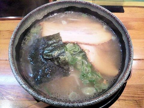 京風ラーメンめんくい亭日替り定食のあっさりコク旨ラーメン