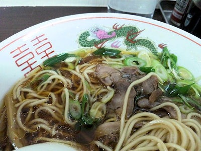 中華そばいまい中華そばのスープ