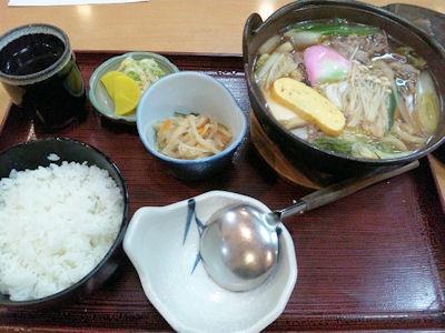 喜両由すき鍋定食