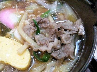 喜両由すき鍋の牛肉