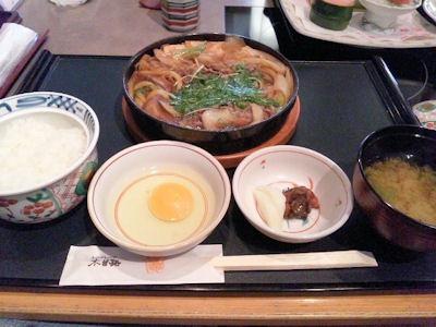 しゃぶしゃぶ・日本料理木曽路/すきやき定食(和牛霜降肉)