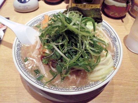 丸源ラーメン/野菜肉そば