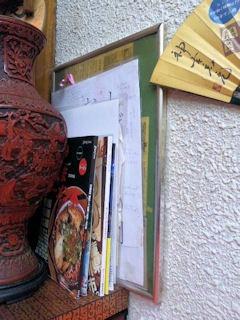 中華そば翁介応援の張り紙