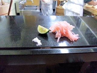菊水鮓塩とゆずと紅生姜