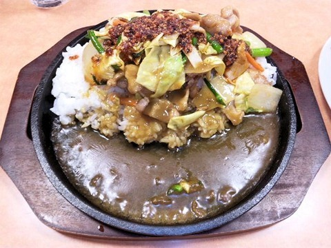 CoCo壱番屋/豚バラ鉄板カレー