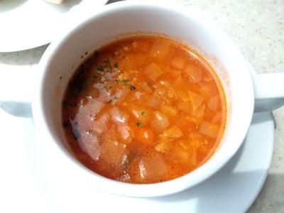 南淡路ロイヤルホテルレストラン四季洋食ランチスープ
