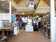 カフェ&スイーツバランタイン店内