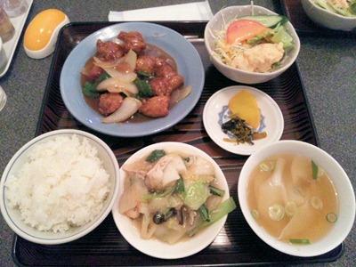 中国料理店南京町民生/東加古川店の酢豚定食