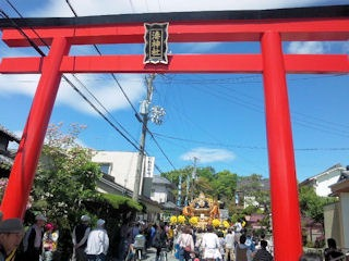 国恩祭的形湊神社