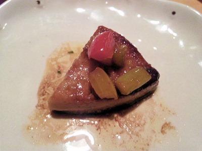 創作料理花鳥風月フランス産フレッシュフォアグラのステーキ