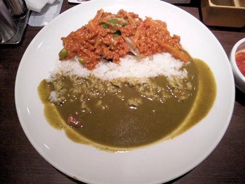 CoCo壱番屋13種類の野菜の恵み ぜいたくキーマWカレー
