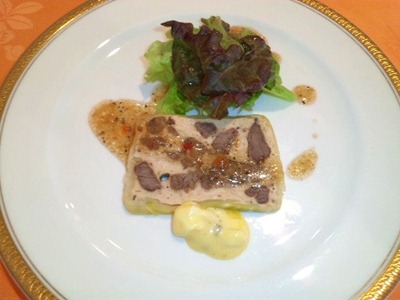 RESTAURANTAzurアジュール肉料理コースの前菜