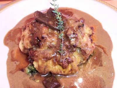 RESTAURANTAzurアジュール肉料理コースのメイン