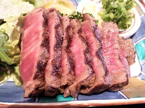 レストランササキ黒毛和牛和風ステーキ定食