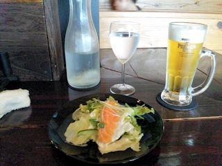 花鳥風月/贅沢フォアグラフルコースのサラダ