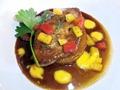 花鳥風月/贅沢フォアグラフルコースのフォアグラのステーキ