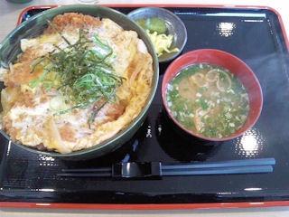 お食事処粋三元豚カツ丼
