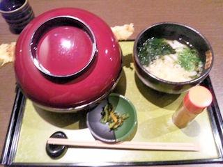 姫路穴子と創作和食一張羅穴子天丼セット