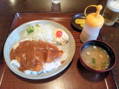 お食事処こころ豚かつめし(ロース)