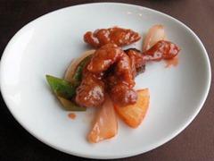 中国レストラン海螢広東ランチ/広東風酢豚