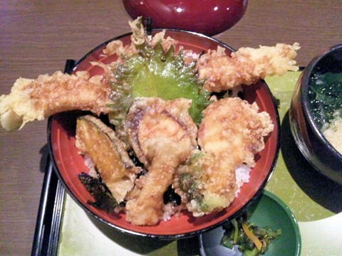 姫路穴子と創作和食一張羅穴子一本揚げ丼