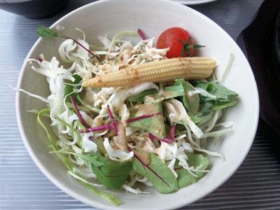 KATE【カテ】日替り焼きそばランチのサラダ
