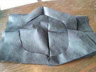 グリルKATE【カテ】国産牛ステーキランチSETの紙ナプキン