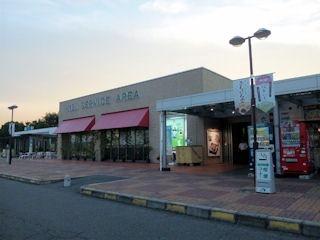 山陽自動車道吉備サービスエリア(上り線)