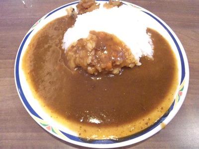ステーキガスト加古川尾上店日替わりランチのカレー