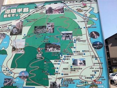 鞆の浦沼隈半島観光マップ