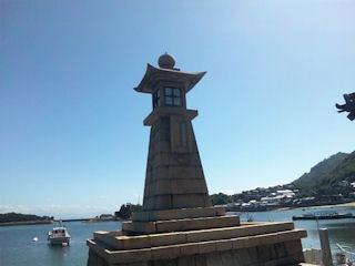 鞆の浦観光常夜燈