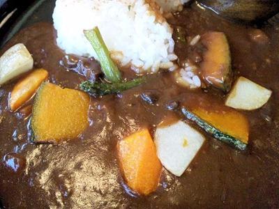 町家カフェ太郎茶屋鎌倉/彩り野菜カレー