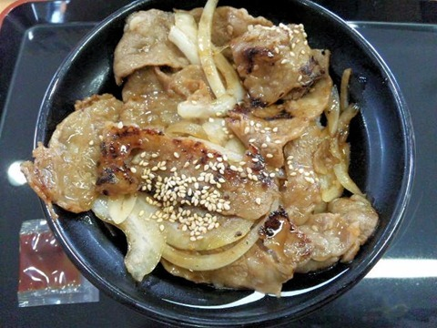 吉野家牛焼肉丼