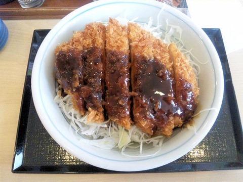かつや東加古川店ソースカツ丼(梅)