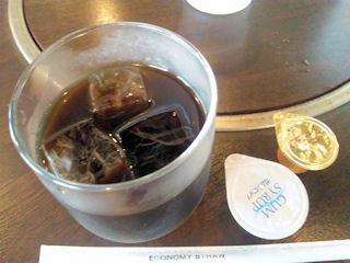 レストハウスグリゥックビフカツ定食の食後のコーヒー
