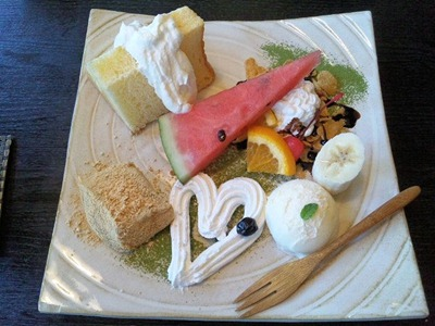 町家カフェ太郎茶屋鎌倉/彩り野菜カレーランチのデザート