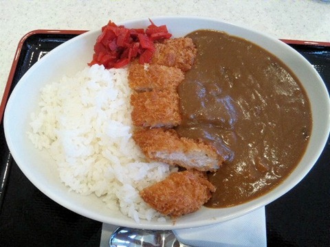姫路バイパス別所PA三元豚カツカレー