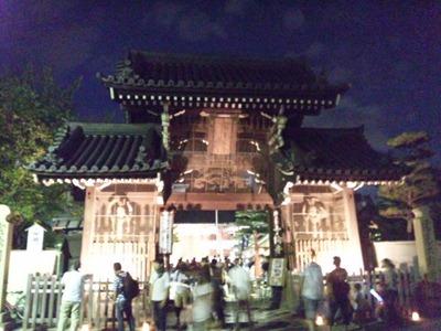 たかさご万灯祭2012十輪寺