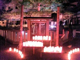 たかさご万灯祭2012願いの灯りの会場