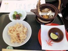 日本料理寿司玉響/松茸香味膳松茸ご飯