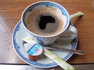 とり里食後のコーヒー