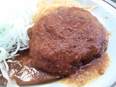 街の洋食屋さんグリルKOU日替り定食(エビフライ&ミンチカツ)