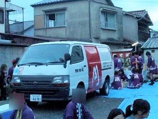 高砂神社秋祭りまねきのえきそば
