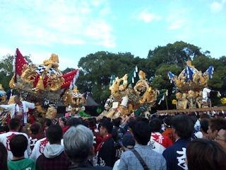 曽根天満宮秋祭り