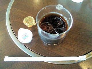 レストハウスグリゥックコロミンチ定食の食後のコーヒー