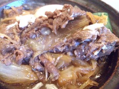 かごの屋姫路市民会館前店日替り昼膳牛すき焼き温玉のせ