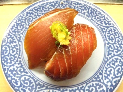 くら寿司アイモール高砂店漬けまぐろ