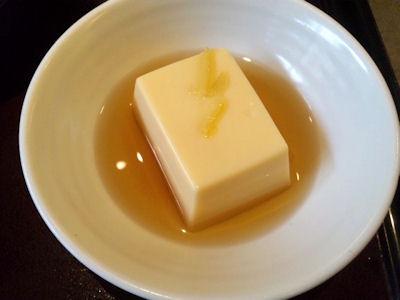 かごの屋日替り昼膳/玉子豆腐